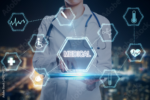 Fotomurales - Medicine and innovation concept