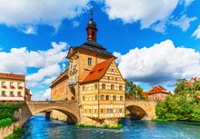 Fotomurales - City Hall in Bamberg, Germany