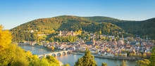 Fotomurales - Panoramic view of beautiful Heidelberg, Germany