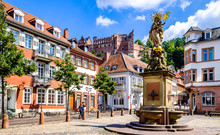 Fotomurales - old town of heidelberg in germany