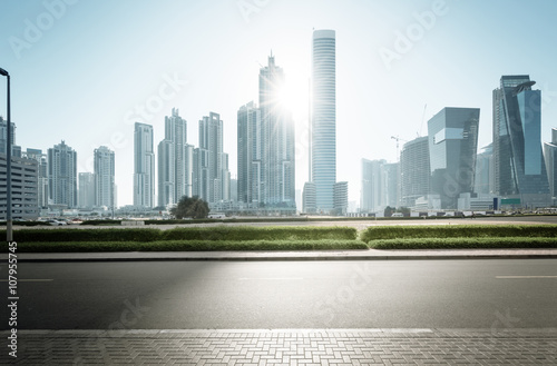 Fotomurales Dubai skyline, United Arab Emirates