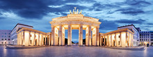 Fotomurales - Brandenburg Gate, Berlin, Germany - panorama